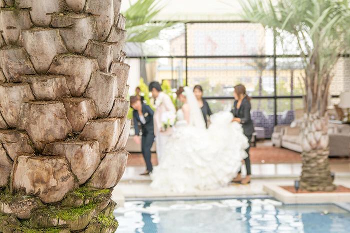 結婚式場の雰囲気
