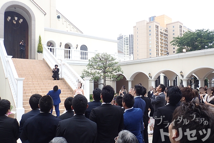 結婚式は楽しくて感動すると気がついた