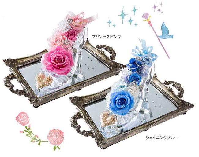 プリンセス・ブライダルフェアのガラスの靴の画像