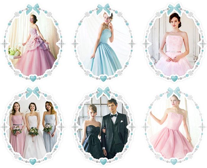 プリンセス・ブライダルフェアのレンタルドレスの画像