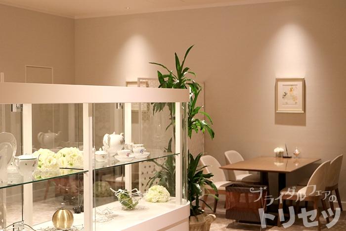 名古屋マリオットアソシアホテルの婚礼受付会場の画像