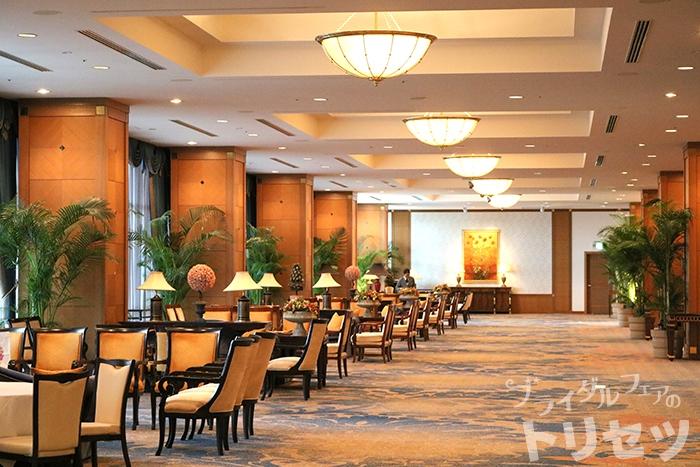 ホテルのロビーの画像