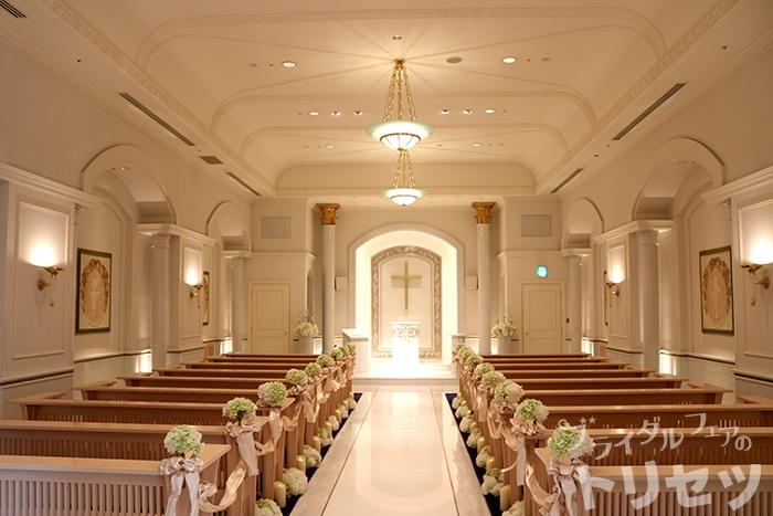 名古屋マリオットアソシアホテルのチャペルの画像