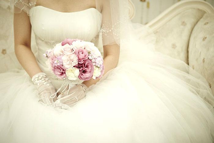 花嫁の画像