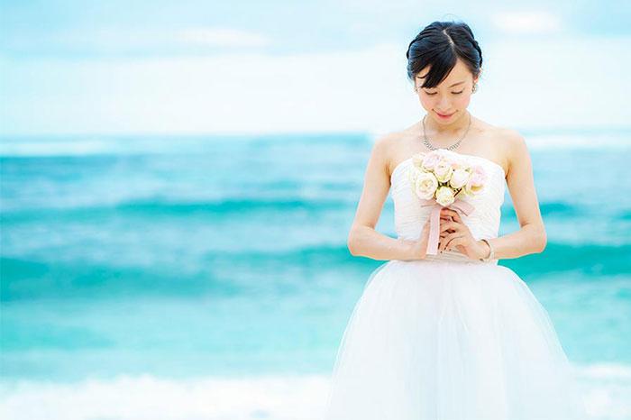 結婚式の前撮りの画像