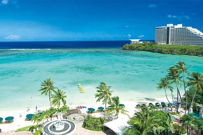 グアムのビーチの画像