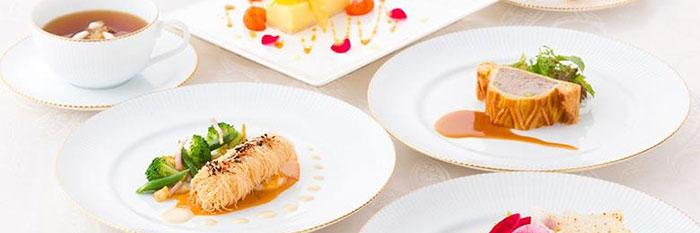 明治神宮の婚礼料理の画像