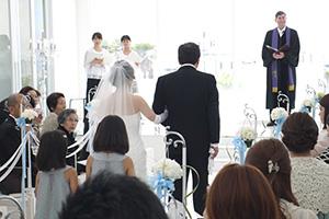 管理人の結婚式