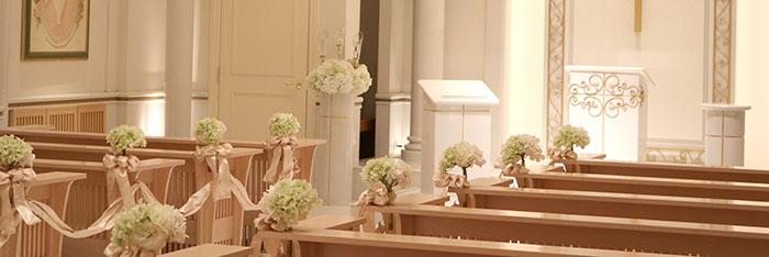 ブライダルフェア参加時に撮った結婚式場