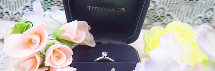 ティファニーの婚約指輪