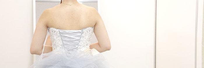 YNSウェディングのドレス