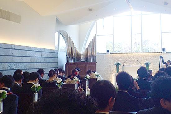 結婚式の参列者