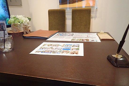 結婚式場の相談室